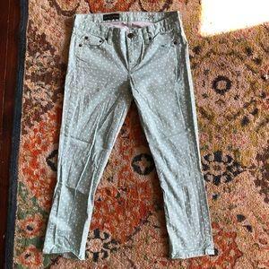 J. Crew Cropped Matchstick Pants